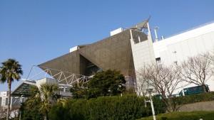 湾岸エリアにある東京ビックサイト